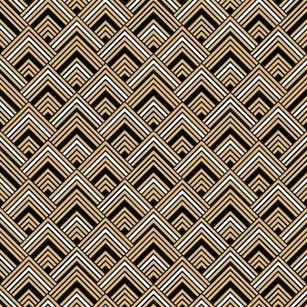 Art deco naadloos patroonontwerp