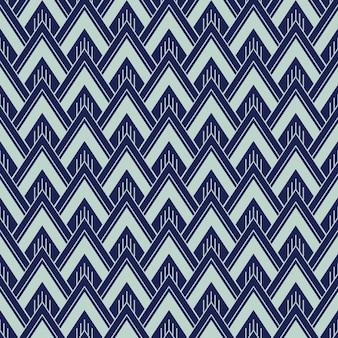Art deco naadloze patroon, geometrische achtergrond voor ontwerp, dekking, textiel, behang, decoratie in vector