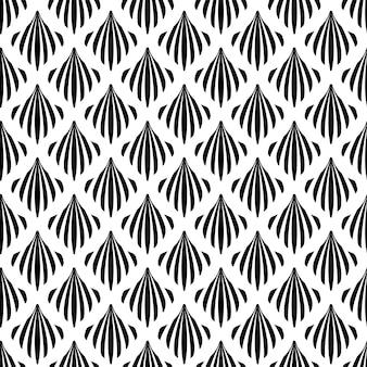 Art deco naadloze patroon textuur decoratieve achtergrond