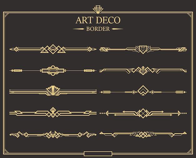 Art deco-rand