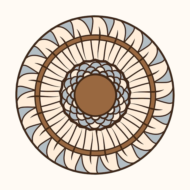 Art nouveau zonnebloem vector, geremixt van de kunstwerken van alphonse maria mucha