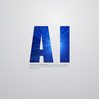Artificial intelligence logo