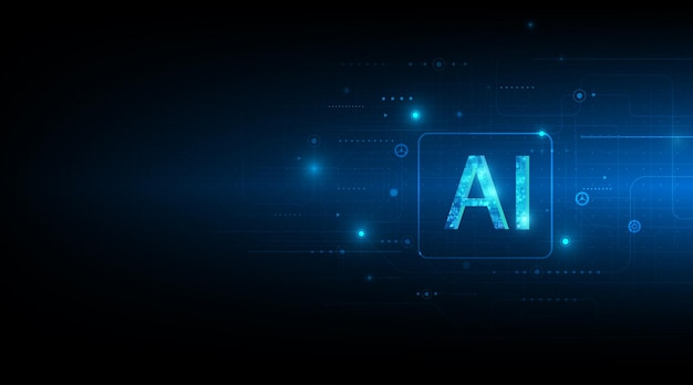 Artificiële intelligentie met het circuitontwerp