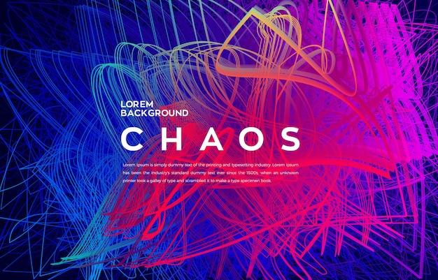 Artistieke 3d kras kleurrijke futuristische achtergrond
