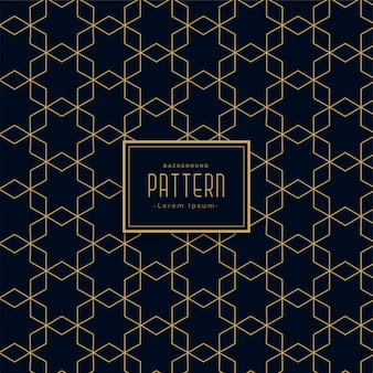 Artistieke geometrische het patroonachtergrond van de stijl donkere lijn