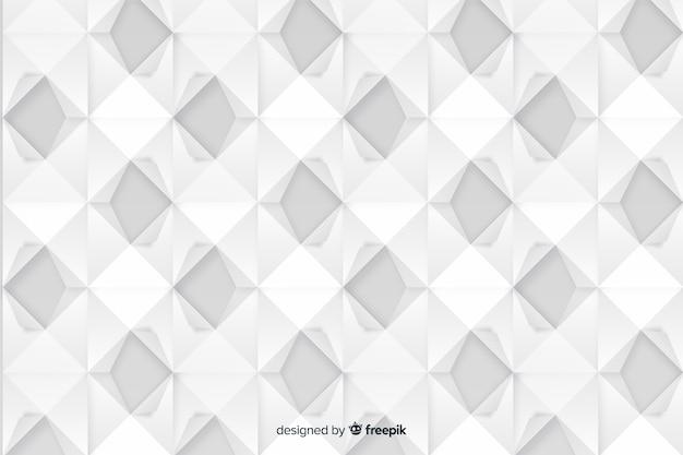 Artistieke geometrische papier stijl achtergrond
