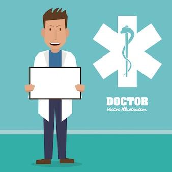 Arts, medisch en gezondheidszorgconcept