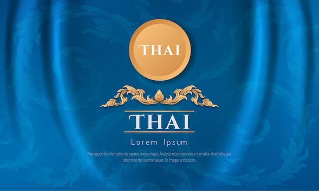 Arts of thailan achtergrond.
