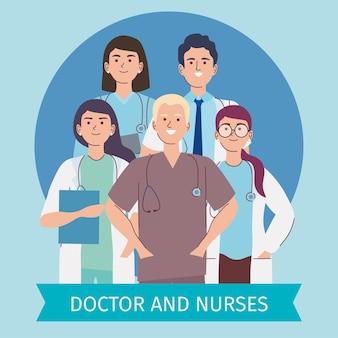 Artsen en verpleegkundigen