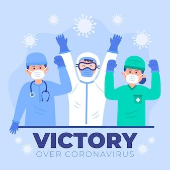Artsen juichen en gelukkig zijn