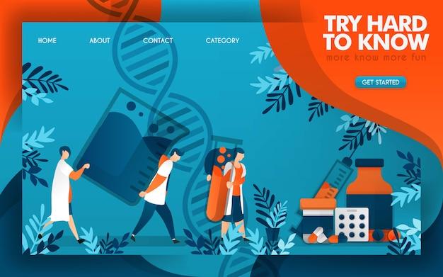 Artsen werken hard om de wetenschap te kennen van het maken van goede medicijnen