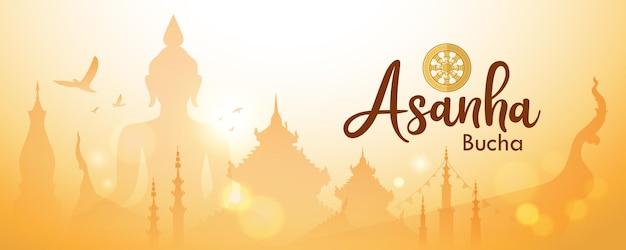 Asanha bucha belangrijke boeddhistische dag in thailand