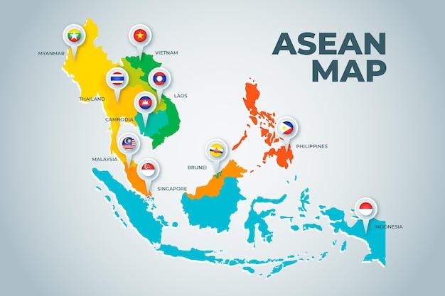 Asean kaart