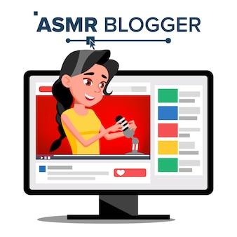 Asmr blogger-kanaal