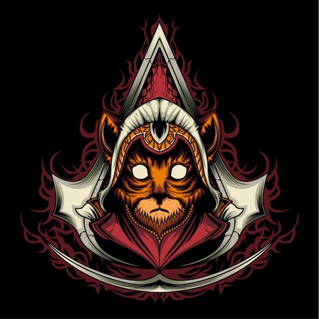 Assassin creed kitten