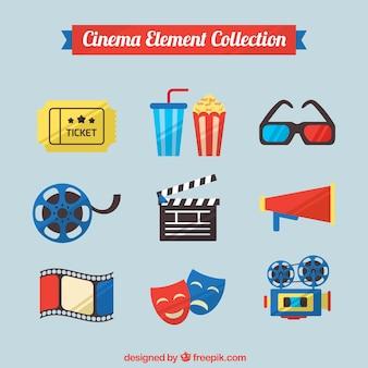 Assortiment van de film elementen