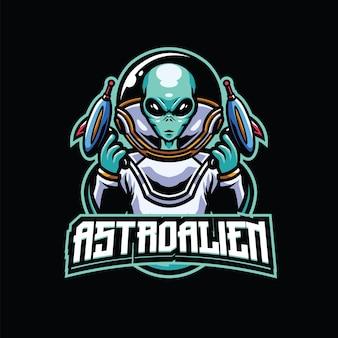 Astroalien esport en sport logo-team
