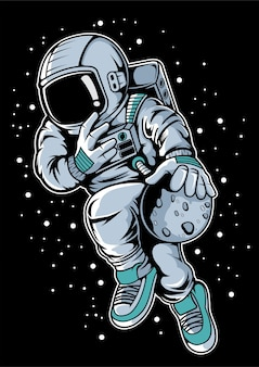 Astronaut basketbal