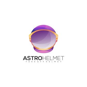 Astronaut helm logo