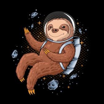 Astronaut luiaard