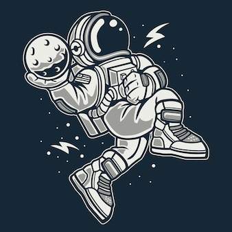 Astronaut slamdunk