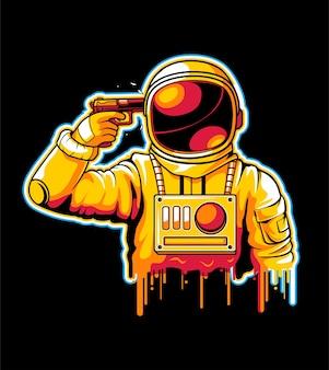 Astronaut zelfmoord