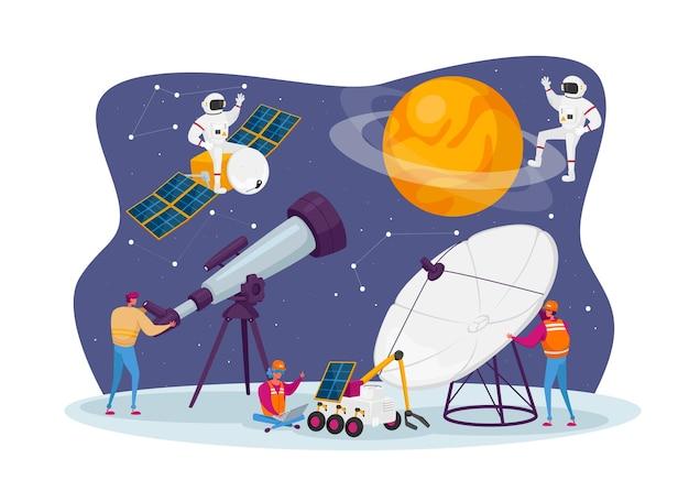 Astronomy science illustratie