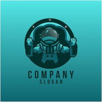 Astronout logo-ontwerp