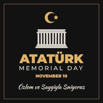 Ataturk herdenkingsdag bouwen