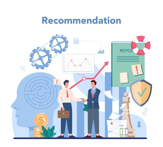 Audit concept. onderzoek en analyse van bedrijfsvoering. professioneel financieel beheer. financiële inspectie en analyse.