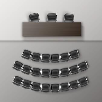 Auditorium lege collegezaal