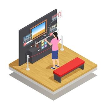 Augmented reality isometrische samenstelling
