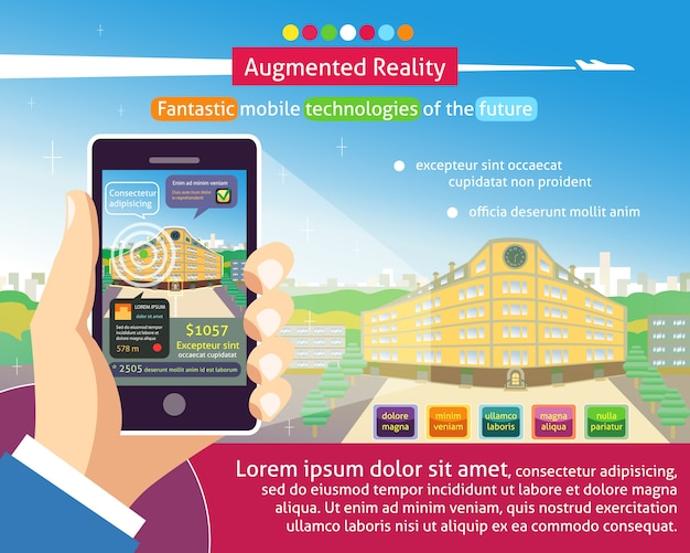 Augmented reality-poster