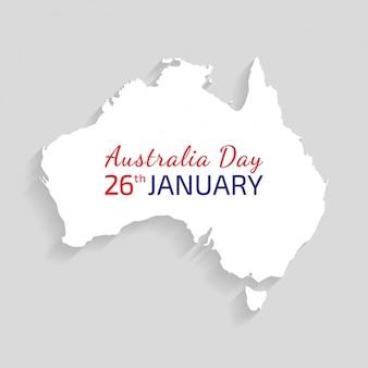 Australië dag achtergrond ontwerp
