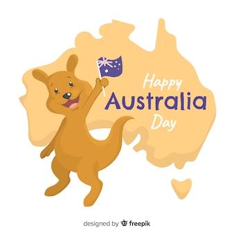 Australië dag achtergrond