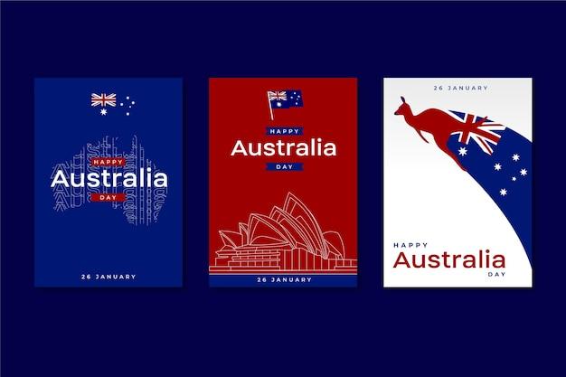 Australië dag wenskaarten