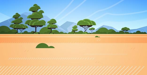 Australische woestijn wilde natuur landschap horizontaal