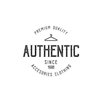 Authentiek premium product - t-shirtontwerp