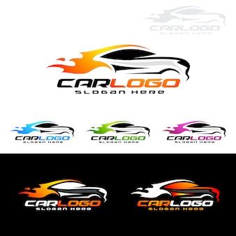 Auto auto-logo voor sportwagens