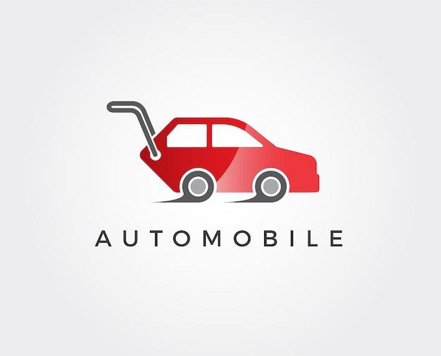 Auto autodealer logo ontwerp