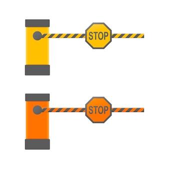Auto barrière