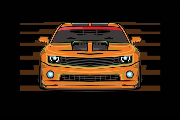 Auto illustratie