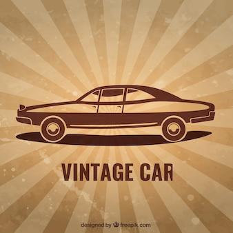 Auto in vintage stijl