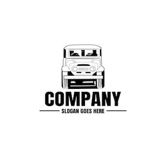 Auto-logo, automotive logo sjabloon