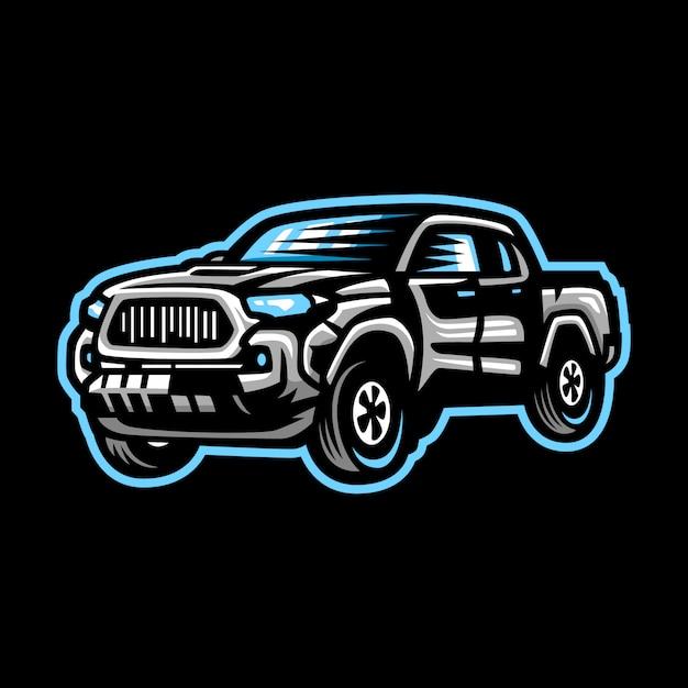 Auto mascotte logo