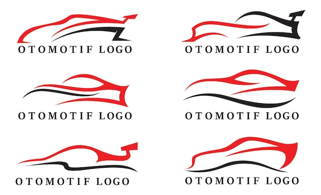 Auto otomotif logo en symbool vector