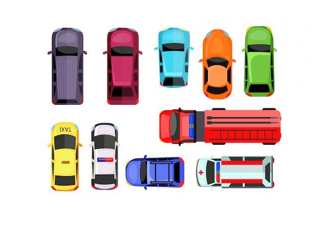 Auto parkeerset