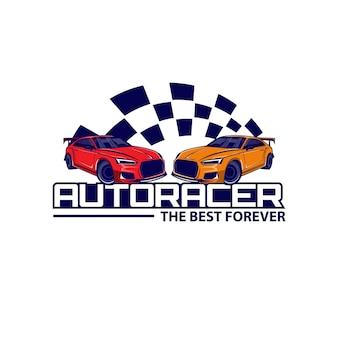 Auto racer snelheid