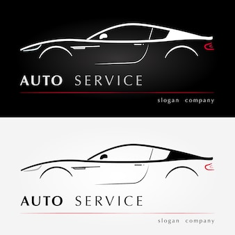 Auto services logo.