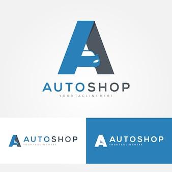 Auto shop, auto-logo